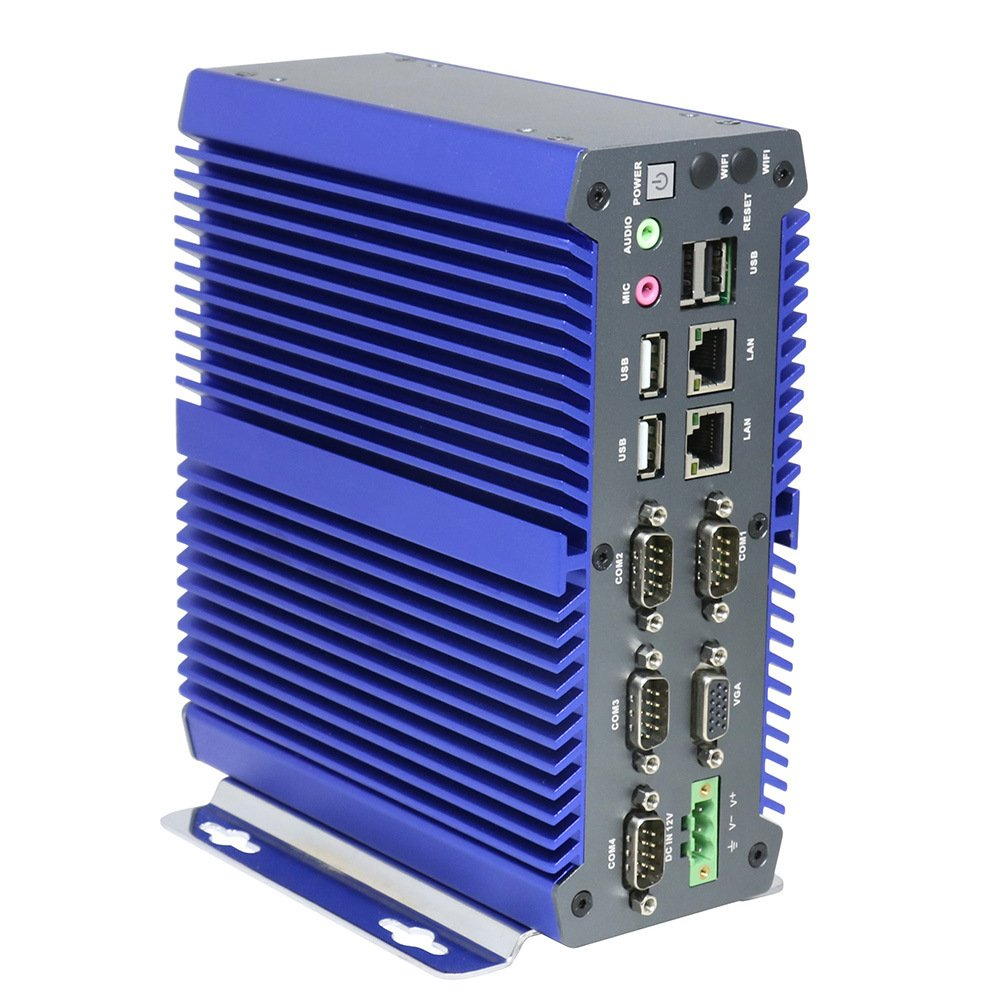 【初売り】 Fanless J1900 Industrial PC Rugged COM Computer IPC Mini B078SQT7DJ PC Windows 10 Pro/Linux with Intel Quad Core J1900 6 COM 2 Intel LAN 4G RAM 128G SSD Partaker I15 B078SQT7DJ Barebone No RAM No Storage|I10+ I5 7200U I10+ I5 7200U Barebone No RAM No Storage, j-pia:4e8a79a5 --- arbimovel.dominiotemporario.com