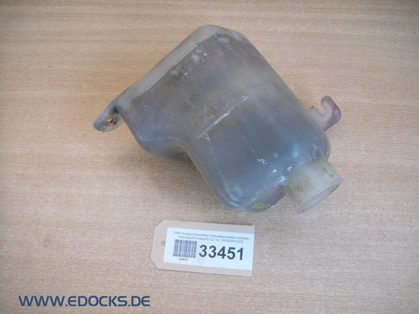 Ausgleichsbehälter Kühlwasserbehälter Behälter Kühlung Df Frontera B 2 2 I Opel Auto