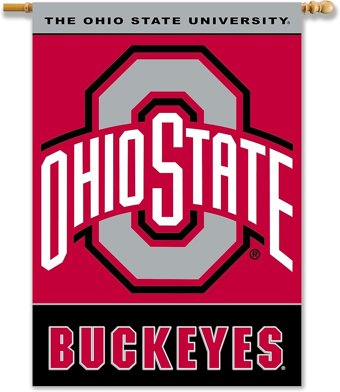 NCAA Ohio State Buckeyes 2-Sided 28