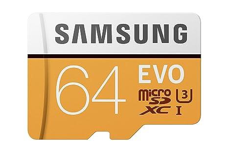 Samsung MicroSDXC EVO - Tarjeta de Memoria (MicroSDXC EVO, 64 GB ...