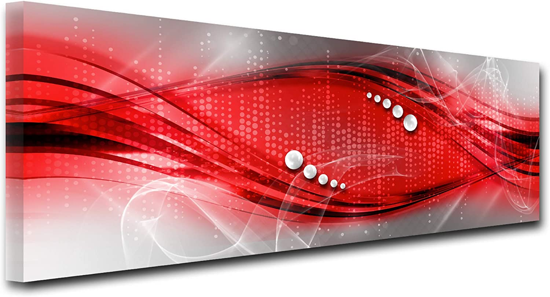 Cuisine Salon Chambre Adulte Impression sur Toile Abstrait d/écoration Murale Violet 150x80 cm DECLINA Tableau Design Moderne Silhouette Danseurs D/éco Maison