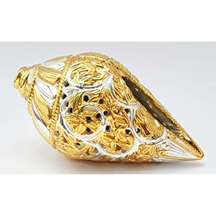 Buy Rhytansh Trendz 24 ct gold plated Antique Shankh A