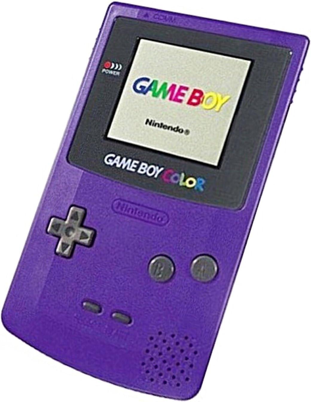 Game boy color - Game Boy Color Grape