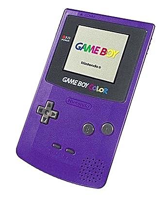 nintendo purple console gbc peripheral gameboy co amazon co uk