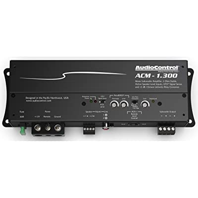 AudioControl ACM Series ACM-1.300 Compact Mono Subwoofer Amplifier 175 watts RMS x 1 at 4 ohms (300 watts RMS x 1 at 2 ohms): Car Electronics