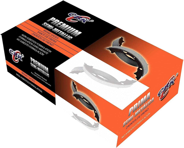 MC NB986 Premium DRUM Brake Shoe Rear