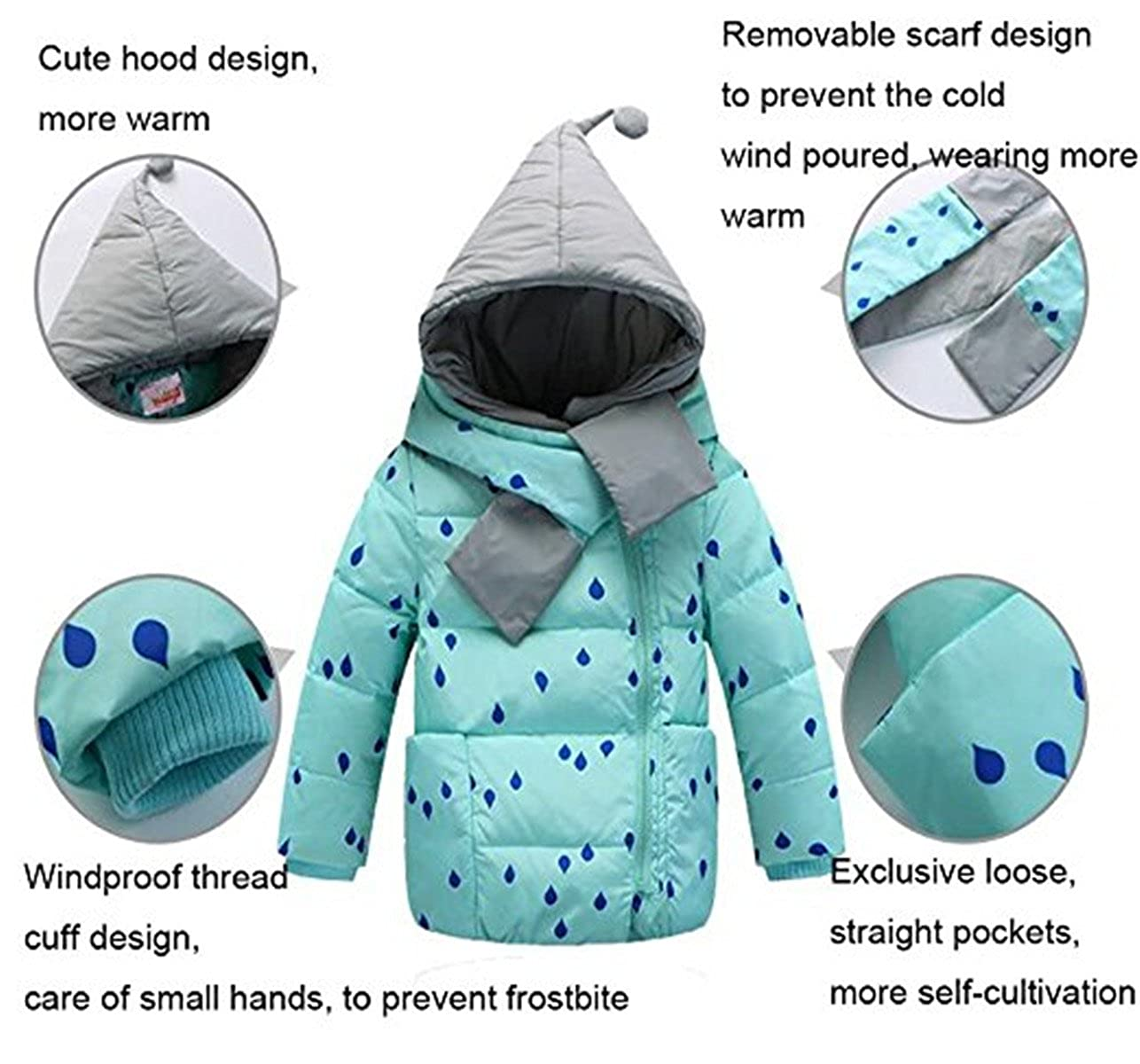 2467e0cba FAIRYRAIN - Traje de Nieve - para bebé niño  Amazon.es  Ropa y accesorios