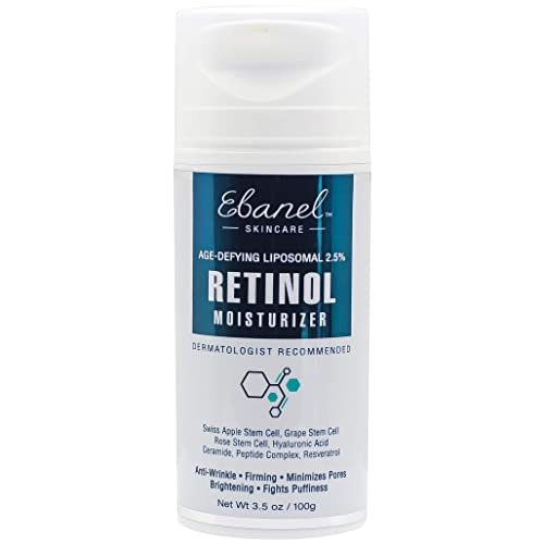 (3.5 Oz) Ebanel Advanced 2.5% Retinol Stem Cell Moisturizer with Age Defying Liposomal