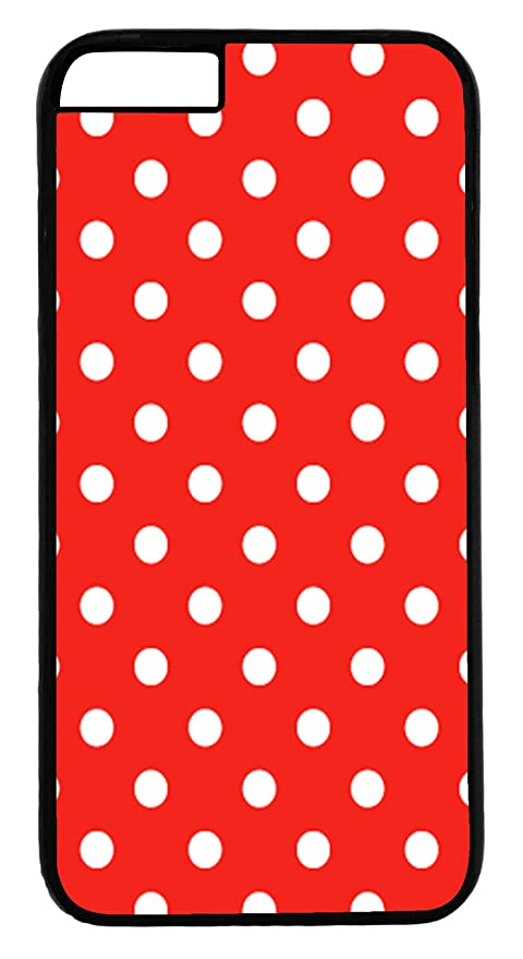 Axs2phone Cover Per Iphone 6 Motivo A Pois Colore Bianco Su