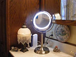Sunter Lighted Vanity Mirror Reviews : Amazon.com : Sunter Natural Daylight Vanity Makeup Mirror, NEW 2015 Model : Beauty