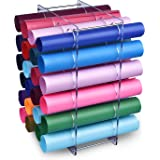 """DROLE Vinyl Roll Storage Rack 24 Holes Vinyl Roll Holders for Craft Room Organizers and Storage 1.96"""" Holes"""