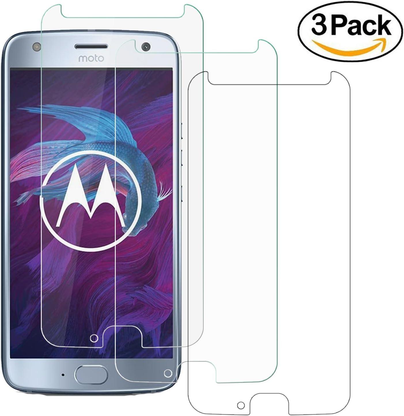 ZEEREE [3 Unidades] Moto X4, Dureza de Grado 9H Cristal Vidrio Templado Premium Protectores de Pantalla para Motorola Moto X4 (5,2 Pulgada): Amazon.es: Electrónica