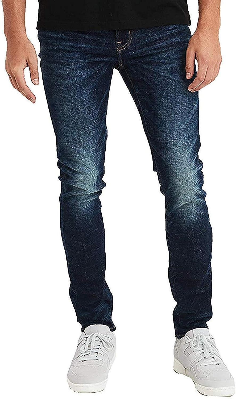 American Eagle Mens 4423896 Ne(X) t Level Super Skinny Jean, Dark Wash (36W x 32L)