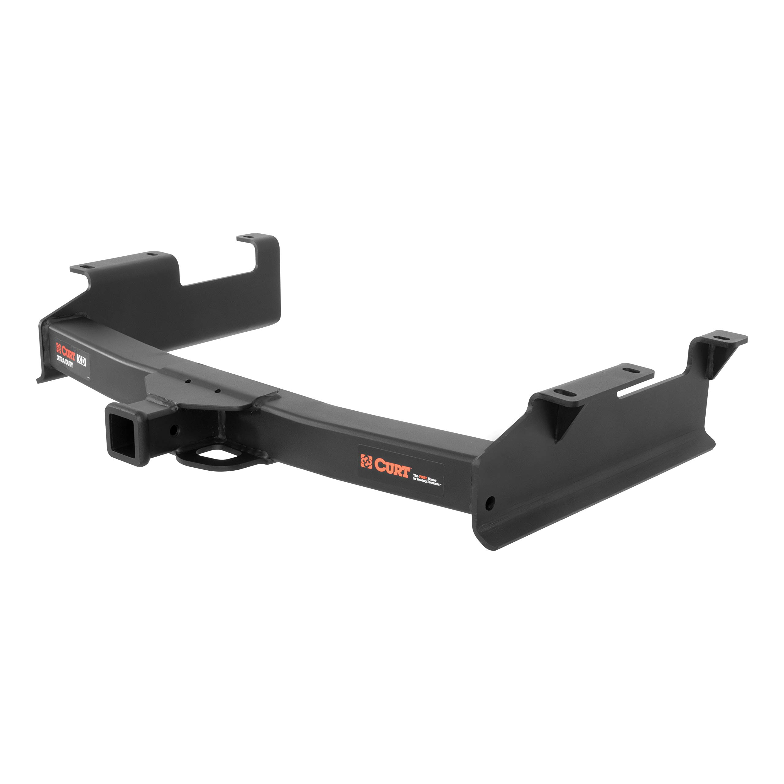 CURT 15312 Xtra Duty Class 5 Trailer Hitch with 2-Inch Receiver, for Select Chevrolet Silverado and GMC Sierra 2500 HD, 3500 HD