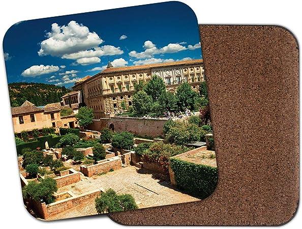 Alhambra Palace España posavasos de corcho, regalo de Moorish ...