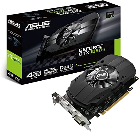 ASUS PH-GTX1050TI-4G - Tarjeta gráfica (NVIDIA GeForce GTX 1050 Ti ...