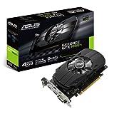 VGA PCI-EXP 4GB ASUS GTX 1050Ti - 4GB / 128BITS / GDDR 5 - DIRECTX 12 / 768 CUDA Cores - P/N: PH-GTX1050TI-4G