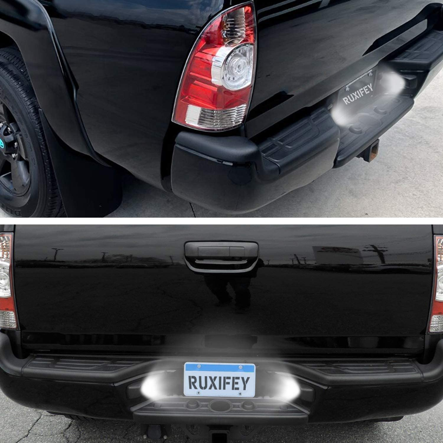 RUXIFEY LED License Plate Light Lamp Replacement Compatible with ...