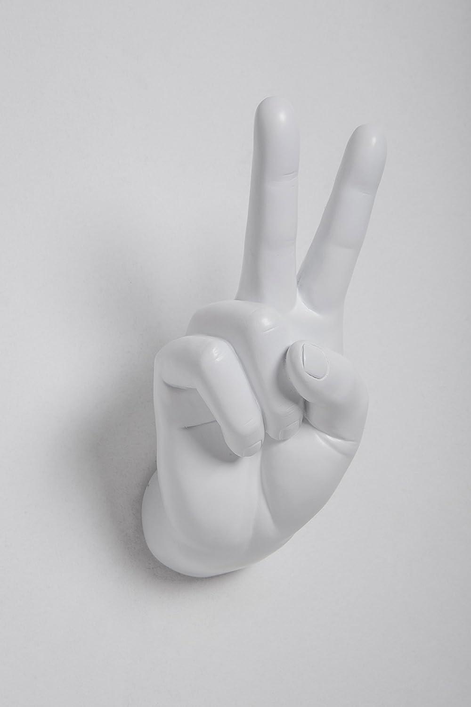 Interior Illusions Peace Sign Hand Wall Hook