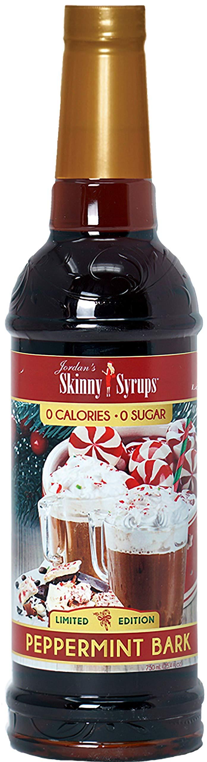 Jordan's Skinny Syrups 0 Sugar Peppermint Bark Coffee Syrup