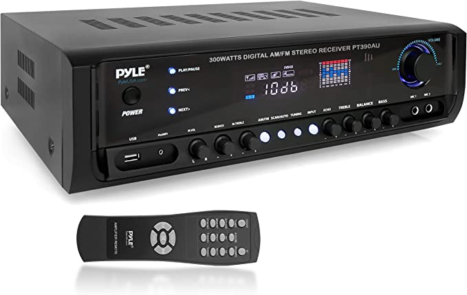 7. Pyle PT390AU Digital Home Theater Stereo Receiver
