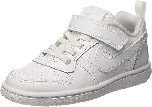 Nike Court Borough Low (PS) Chaussures de Basketball garçon