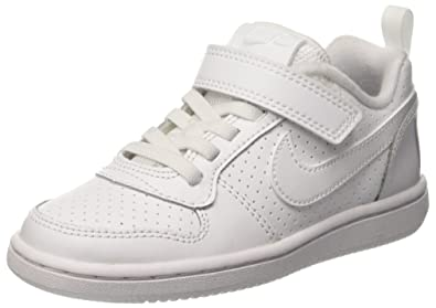 best website ffcc9 f1ce7 Nike Court Borough Low (PS), Scarpe da Basket Bambino  Amazon.it  Scarpe e  borse