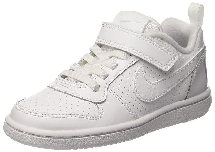 Nike Court Borough Low (PSV), Zapatillas de Baloncesto para Niñas
