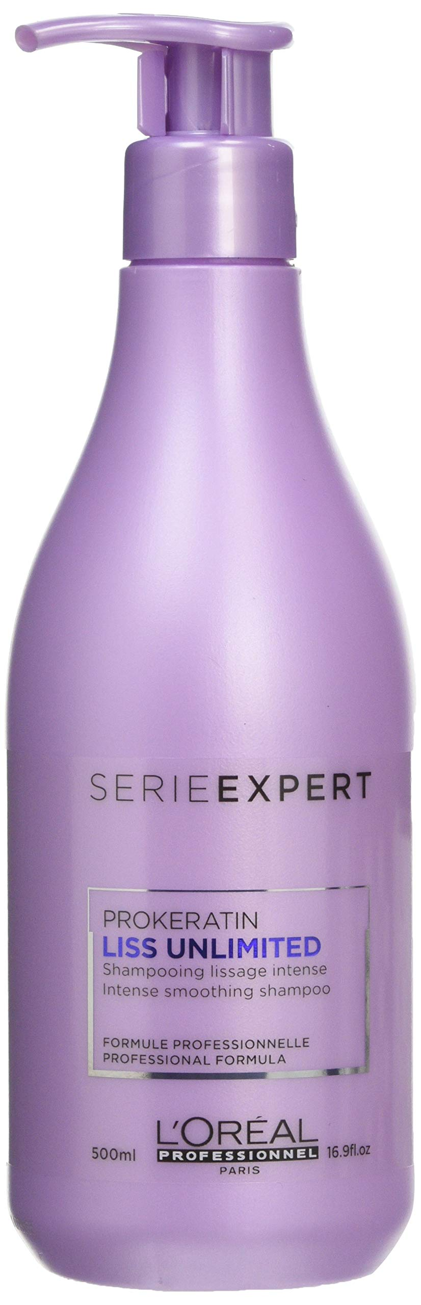 L'Oreal Lis Unlimited Intensive Smoothing Shampoo, 500 ml, 2525468