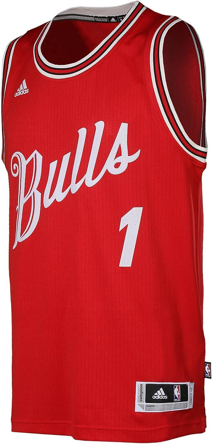 Camiseta Jersey Xmas Swingman ADIDAS NBA Basketball Chicago Bulls ...