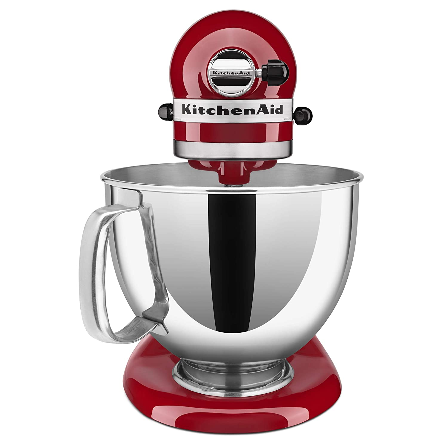 KitchenAid KSM150PSER - Batidora amasadora, color rojo ...