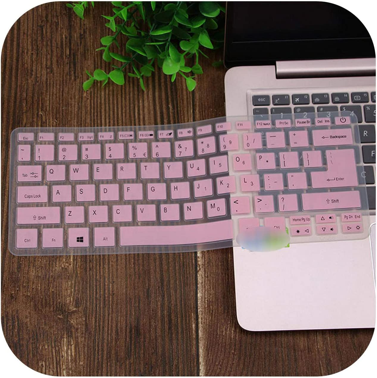 for Acer Swift SF113 S5 371 SF514 SF5 Swift 5 Swift 3 Aspire S13 14 SF314 Spin 5 13.3'' Laptop Keyboard Cover Skin Protector-Pink-