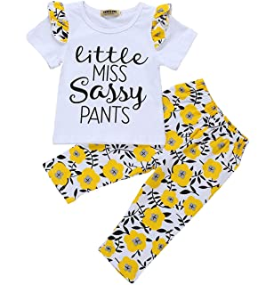 27a38051aaed 3Pcs Newborn Baby Girls Boys Romper Sunflowers Print Outfit Set Boys Girls  Long Sleeve Bodysuit Clothes