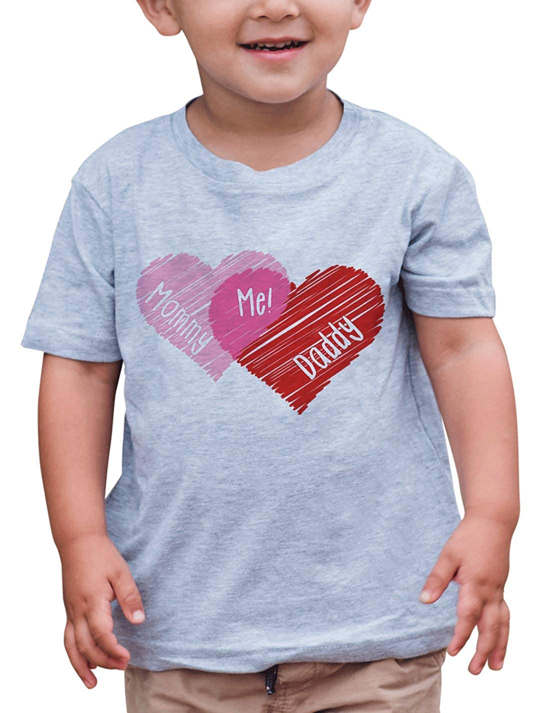 7 ate 9 Apparel Kids Happy Valentines Day T-Shirt