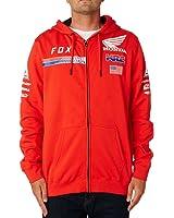 Fox Racing Mens HRC USA Fleece Hoody Zip Sweatshirts