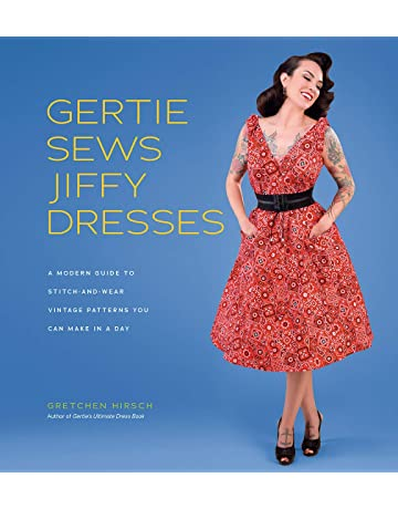 71177835945 Gertie Sews Jiffy Dresses  A Modern Guide to Stitch-and-Wear Vintage  Patterns.  1