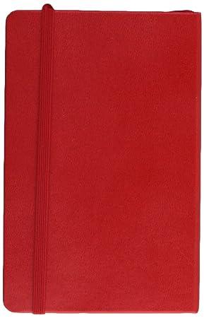 Moleskine DHF212WN2Y17 - Agenda semanal 12 meses, pocket 9 x 14, color rojo