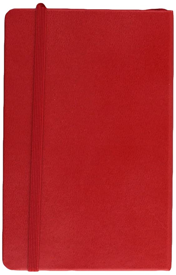 Moleskine 2017 Weekly Notebook, 12M, Pocket, Scarlet Red, Hard Cover (3.5 x 5.5)