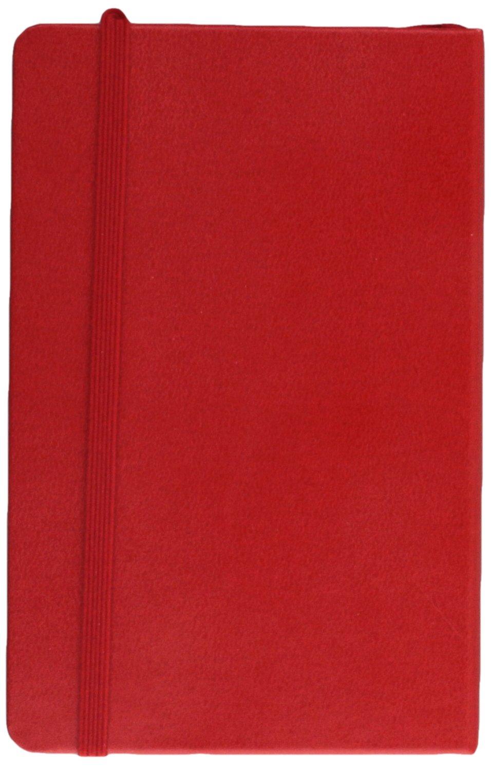 Moleskine 2017 Weekly Notebook, 12M, Pocket, Scarlet Red, Hard Cover (3.5 x 5.5)