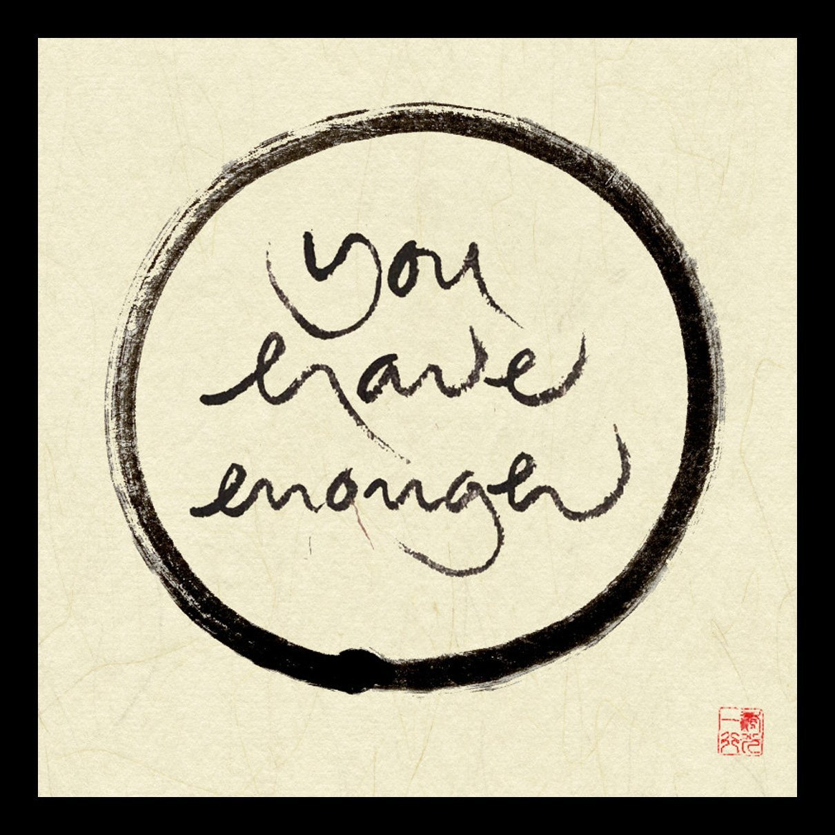 Tallenge Mindfulness - You Have Enough by Thich Nhat Hanh Large ...