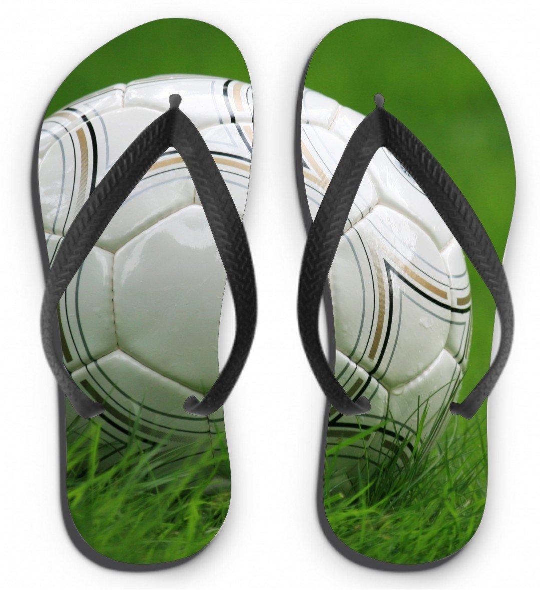 Flip Flops Motiv Fußball Größe M (38-40): Amazon.de: Küche & Haushalt