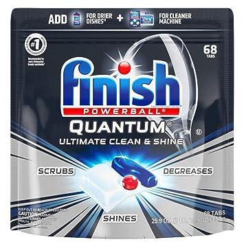 Amazon.com: Acabado Quantum – 68 ct – detergente para ...