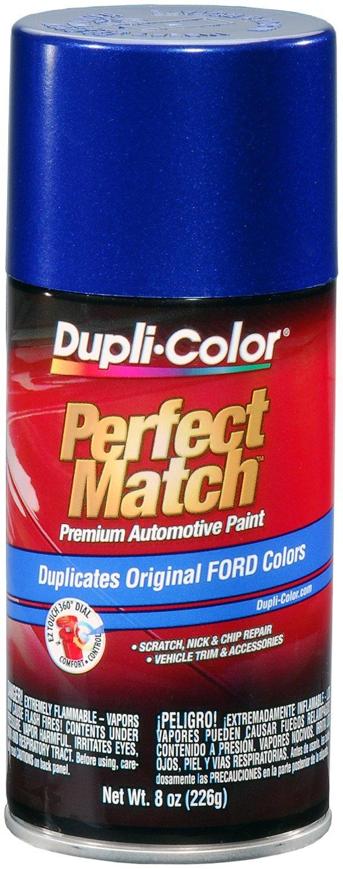 Dupli-Color EBFM03827 Medium Blue Metallic Ford Exact-Match Automotive Paint - 8 oz. Aerosol
