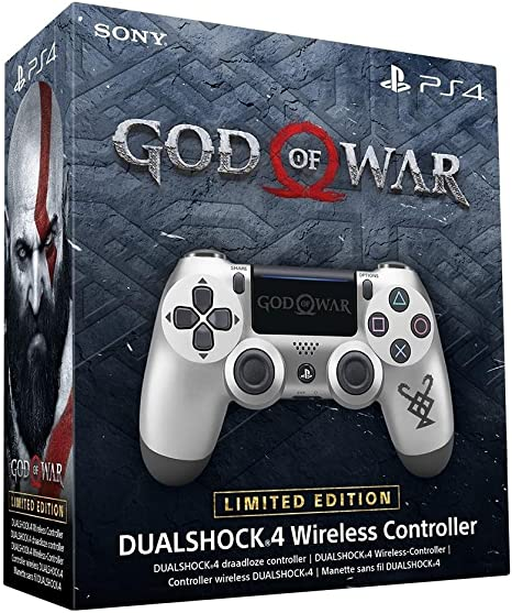 Sony PlayStation DualShock 4 Controller - Limited Edition God of ...