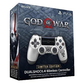 Amazon com: New Sony Dualshock 4 V2 God of War Edition