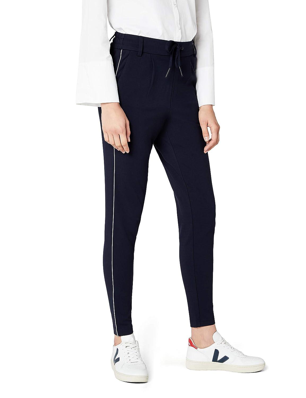 TALLA 34 /L34 (Talla del fabricante: X-Small). Only Onlpoptrash Piping Pant Noos Pantalones para Mujer