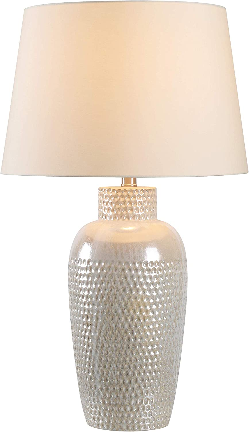 Kenroy Home 32107ird Facade Table Lamps 28 Inch Height Iridescent Ceramic Table Lamps Ceramic