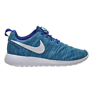 brand new 0732e 8c26e Nike Roshe One Print Women s Shoes Gamma Blue White Deep Royal 599432-415