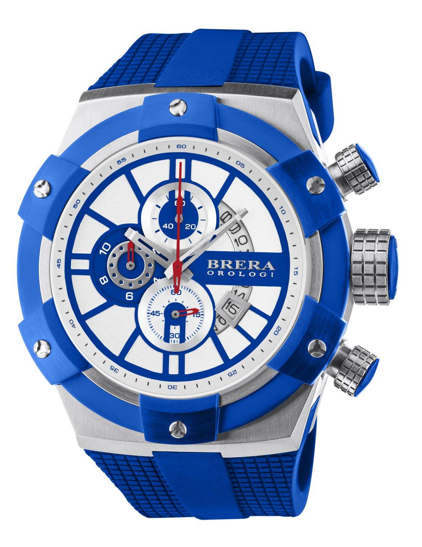 Brera Orologi - Supersportivo - Blue/White - BRSSC4917 by Brera Orologi