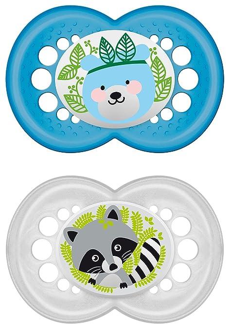 115 opinioni per MAM 172311- Ciuccio in silicone per bambini dai 6 ai 16 mesi, senza BPA,